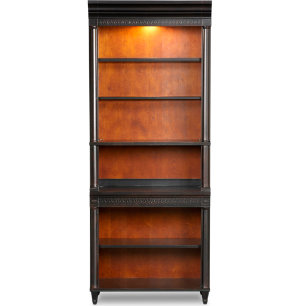Bookcase With Open Shelf