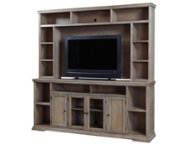 Oak Canyon 84  Console w Hutch