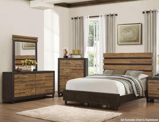 Logan 5pc Queen Bedroom Set - Art Van Furniture