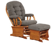 Kendall Ii Glider Rocker Grey Art Van Furniture