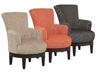 Justine Swivel Chair Art Van Furniture