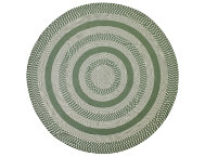 Colby 8' Round Sage Rug