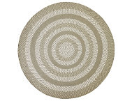 Colby 8' Round Tan Rug