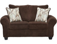 shop Hudson-Chocolate-Loveseat