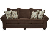 Hudson Chocolate Sofa