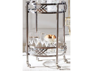 shop Polished SS Bar Cart