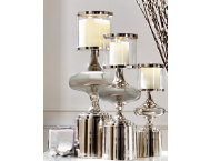 shop Nickel Plated Candle Hurricane