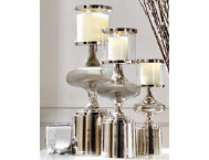 shop Nickel Plated Candle Holder