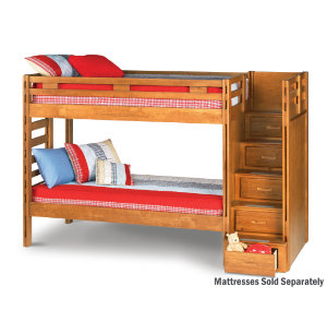 Bedroom Queen Bunk Bed Twin Over Queen Extra Long Bunkbed Image | Bed ...