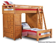 Twin Loft With 2 Chests