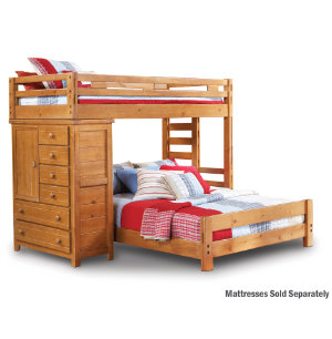 Twin Loft Bed With Chest
