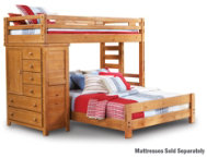 Twin   Full Loft with Chest