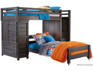 shop Twin Step Loft With Chest