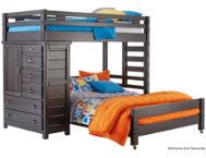 shop Twin Loft Bed with Chest