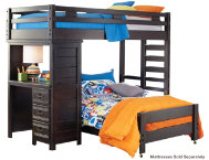 shop Twin Loft Bed with Desk