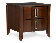 Woodward Two Drawer End Table