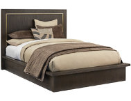 shop NB2 Modern King Panel Bed