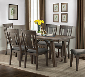 cash table 4 chairs 499 399 shop now - Dining Room Table And Chairs With Bench