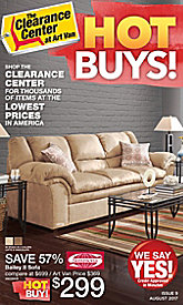 Clearance Center Hot Buys