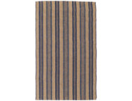 Seagrass Navy Stripe 8x10 Rug