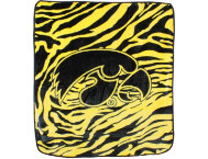 shop Iowa Hawkeyes Zebra Blanket