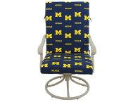 Wolverines 2pc Chair Cushion
