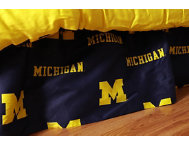 Wolverines Full Bed Skirt