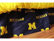 Wolverines King Bed Skirt