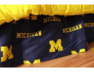 Wolverines Twin Bed Skirt