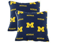 Wolverines Outdoor Pillows