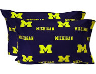 Wolverines King Pillowcase