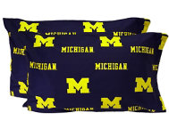 Wolverines Blue Pillowcase