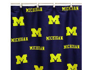 Wolverines Shower Curtain