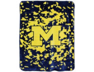 Wolverines Throw Blanket