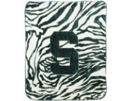 shop Spartans Zebra Blanket