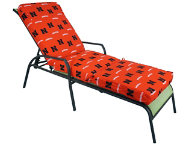 Nebraska 3pc Chaise Cushion