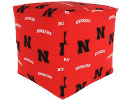 Nebraska Cube Cushion