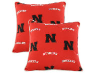Nebraska Outdoor Pillow