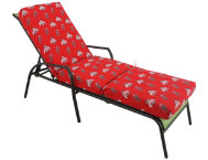 Ohio State 3pc Chaise Cushion