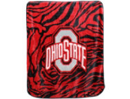 shop Ohio State Zebra Blanket