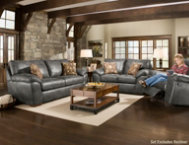 shop Mineral Steel Sofa & Loveseat