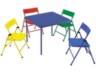 Kid's 5pc Chair and Table Set