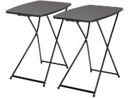 Black Tailgate Table Set of 2