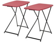 Red Tailgate Table Set of 2