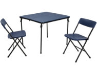 Blue 3PC Table and 2 Chairs