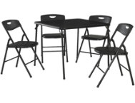 Black 5PC Table and Chair Set
