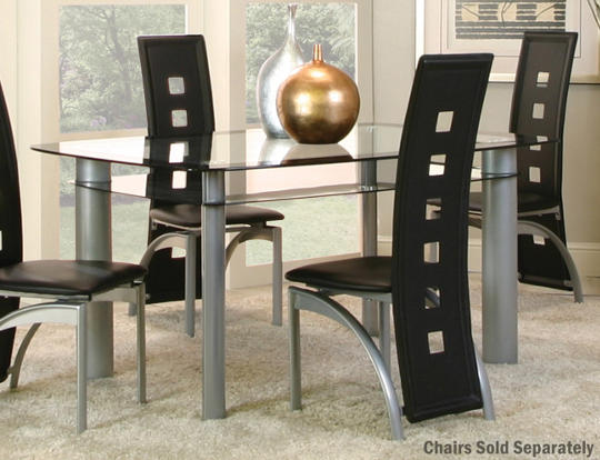 Valencia Glass Dining Table Art Van Furniture – Art Dining Room Furniture