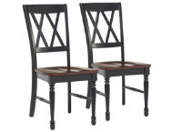 Shelby Black Chair Set of 2