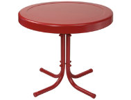 Gracie Red Side Table
