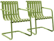 Gracie Green Chairs (Set of 2)